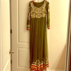 Pakistani Indian outfit dress 2-piece